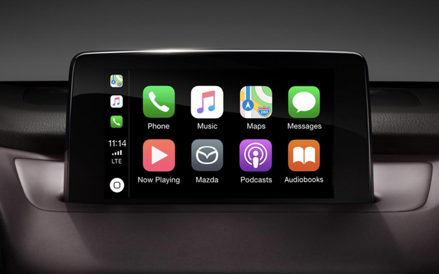 apple carplay available for earlier mazdas team mazda dealership. Black Bedroom Furniture Sets. Home Design Ideas