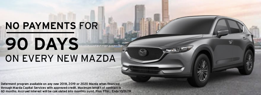 Mazda Capital Services >> No Payments For 90 Days On Every New Mazda Team Mazda